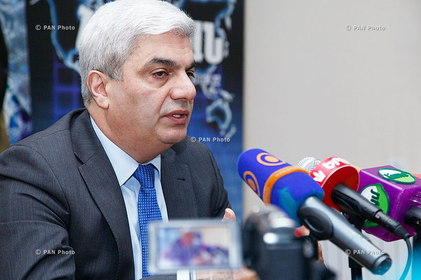 Press conference of Stepan Grigoryan, president of Analytical Centre on Globalisation and Regional Cooperation