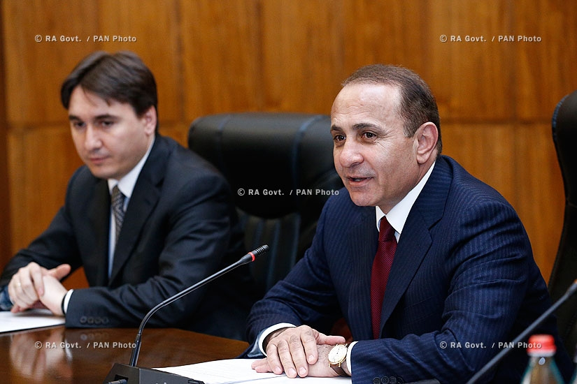 RA Govt.: Prime minister Hovik Abrahamyan holds consultative meeting with marz governors