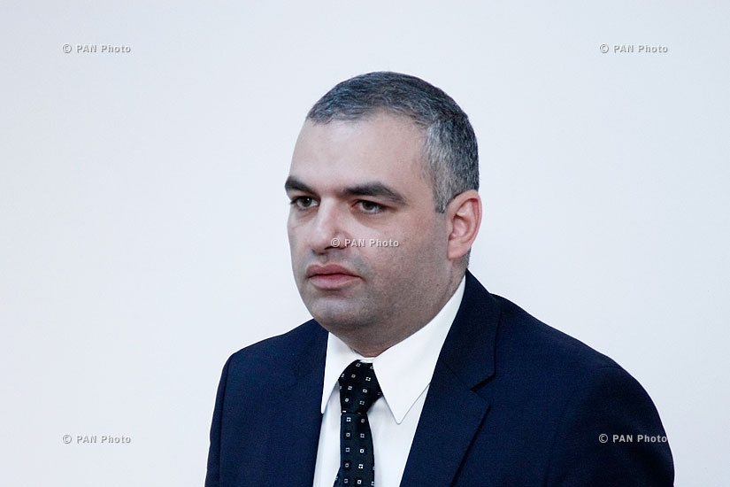 Press conference of Armenian Genocide Museum-Institute director Hayk Demoyan
