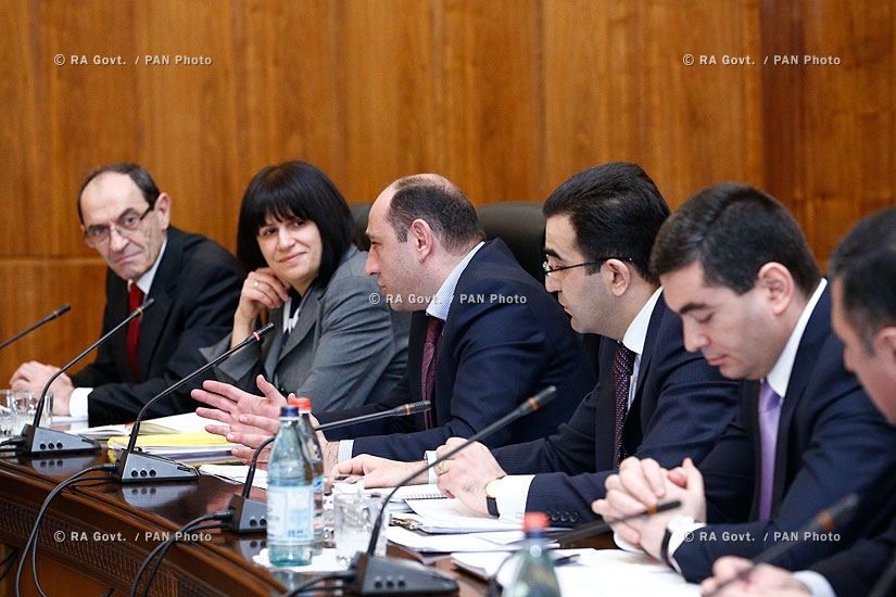 RA Govt.: Meeting on Armenia's accession to Customs Union and  Common Economic Space