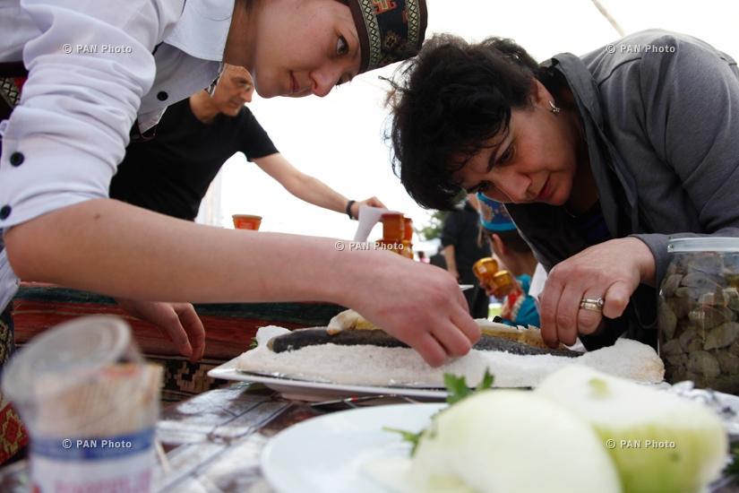 Первый рыбный фестиваль в Армении