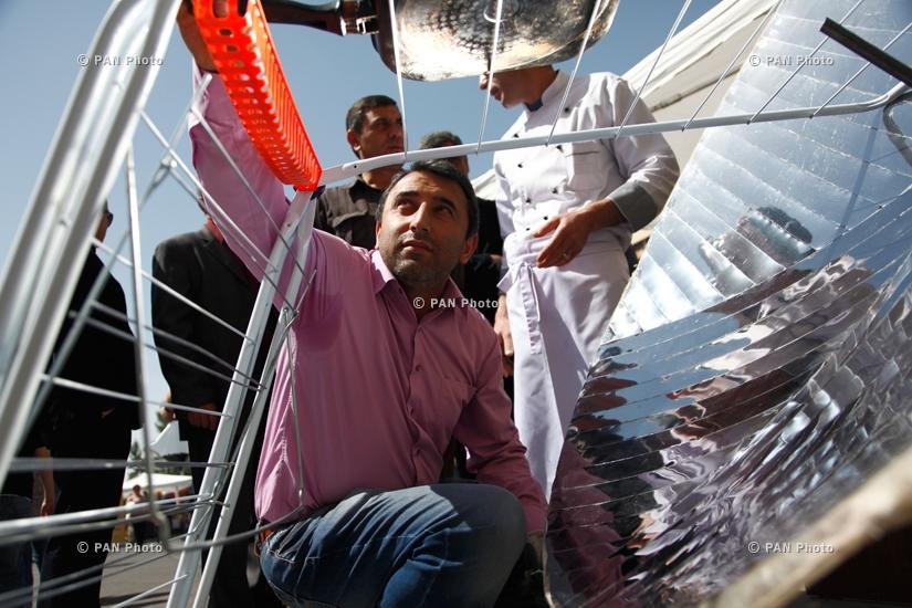 Ձկան առաջին փառատոնը Հայաստանում