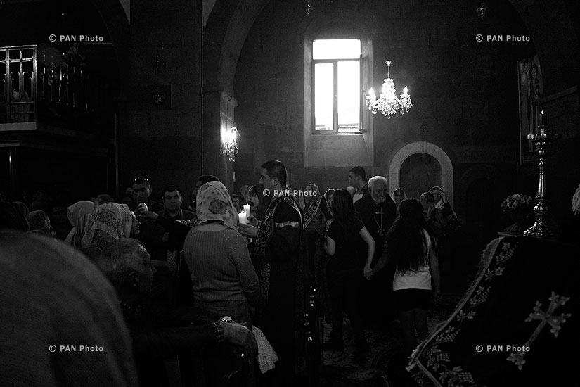 Armenian Church marks Easter Eve