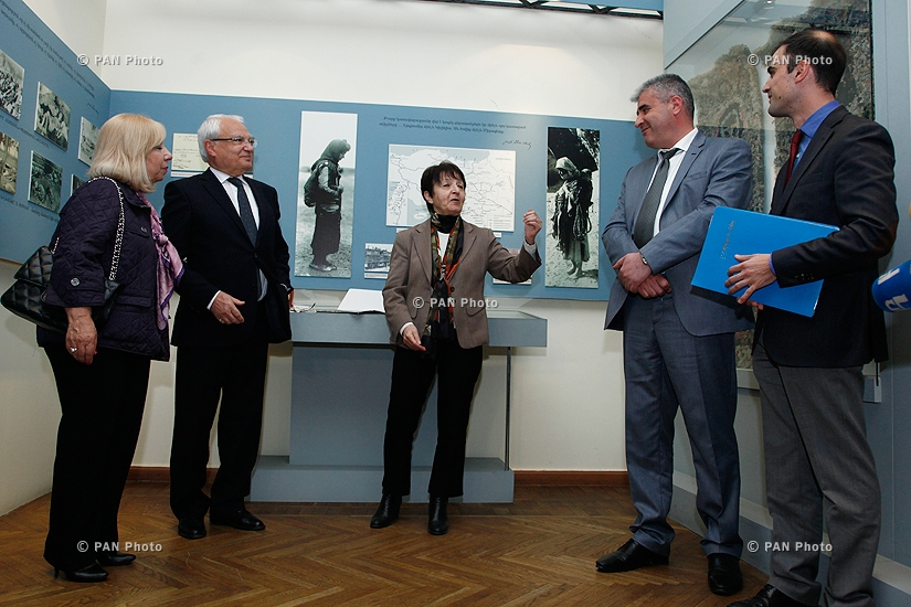 Unique manuscripts of commander Andranik Ozanyan were handed to History Museum of Armenia