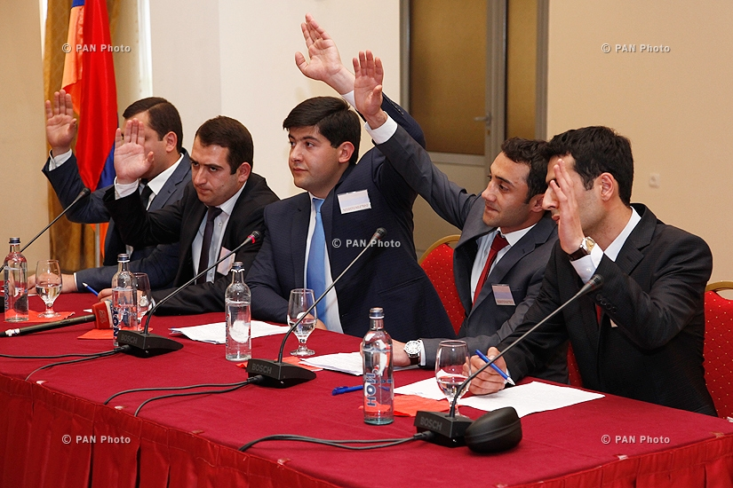Founding Congress of  Liberal Democratic Party of Armenia