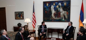 Armenian Foreign minister Edward Nalbandyan receives   U.S. Congressional delegation