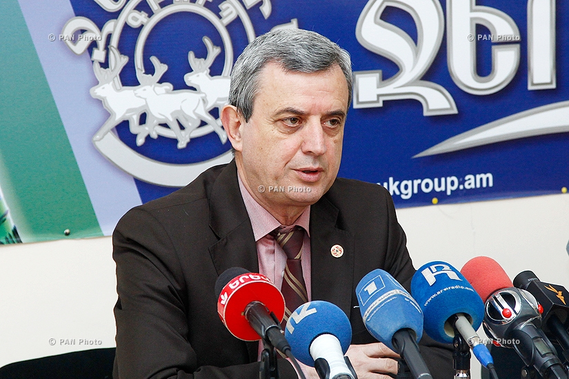 Press conference of Chairman of the National Assembly's Standing Committee on Financial-Credit, Budgetary and Economic Affairs Gagik Minasyan