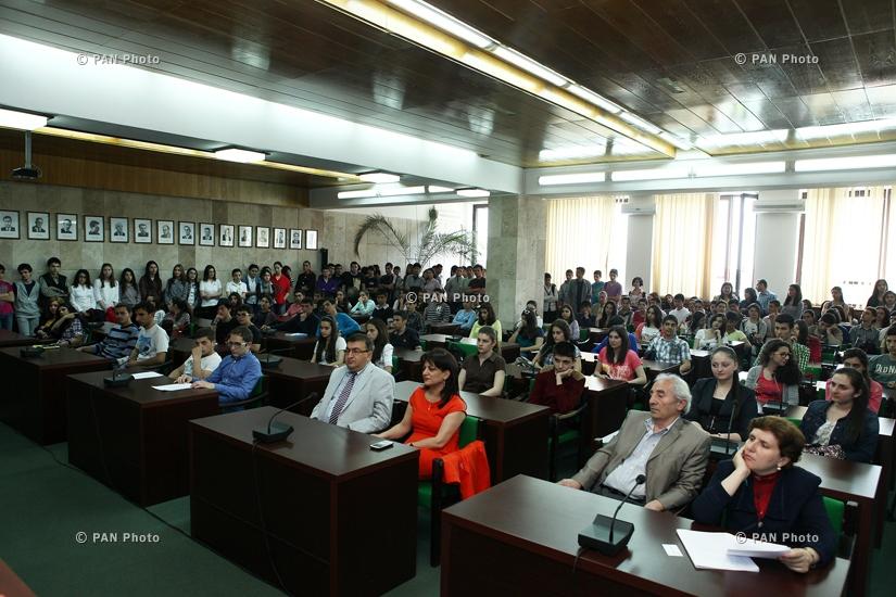 ՏՏ ոլորտում ՀՀ նախագահի ամենամյա կրթական պարգևի մրցանակաբաշխության հանձնաժողովի հանդիպումը հավակնորդների հետ