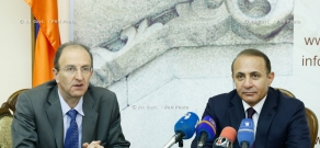RA Govt.: Prime minister Hovik Abrahamyan introduces newly appointed Minister of Urban Development Narek Sargsyan