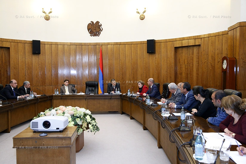 RA Govt.: Jubilee committee discusses events to mark Armenian poet Hovhannes Shiraz's 100th birthday