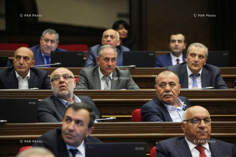 Пленарное заседание Национального собрания Армении