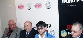 Пресс-конференция о фестивале под названием «Дружба народов»