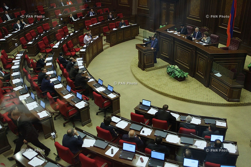 Galust Sahakyan was elected Chairman of the National Assembly of Armenia