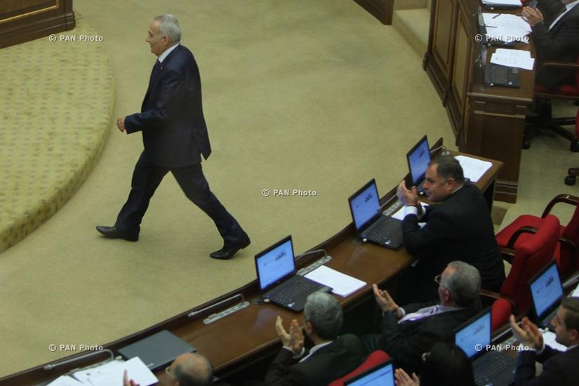 Спикером Национального Собрания Армении избран Галуст Саакян