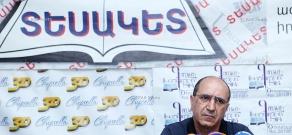 Пресс-конференция председателя партии «Национальная безопасность» Гарника Исагуляна