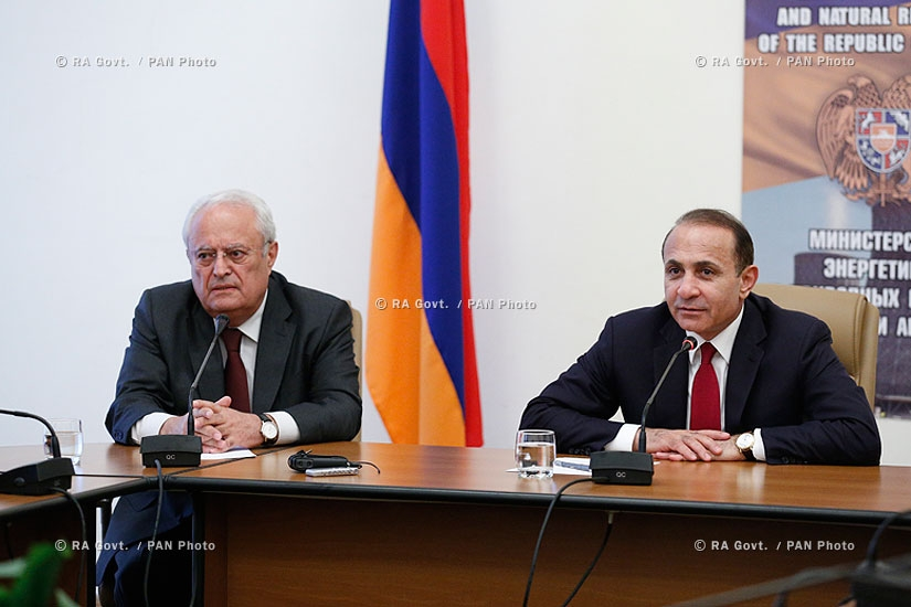 RA Govt.: Yervand Zakharyan appointed Minister of Energy and Natural Resources