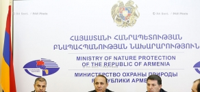 RA Govt.: Prime minister Hovik Abrahamyan introduces newly appointed Minister of RA Nature Protection Aramayis Grigoryan