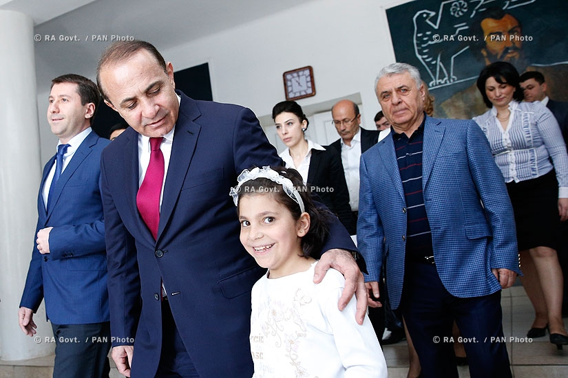 RA Govt.: PM Hovik Abrahamyan visits Byureghavan Boarding School in Wake Of OHRD Disclosure