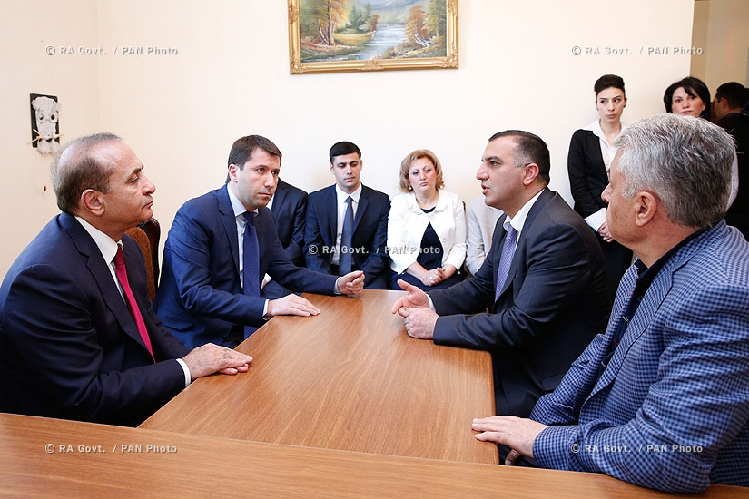 RA Govt.: PM Hovik Abrahamyan visits Byureghavan Boarding School in Wake Of OHRD Disclosure