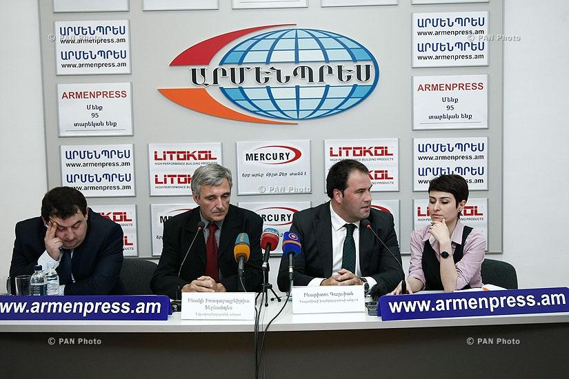 «Հայաստան-ԵՄ հարաբերություններ» թեմայով մամուլի ասուլիս