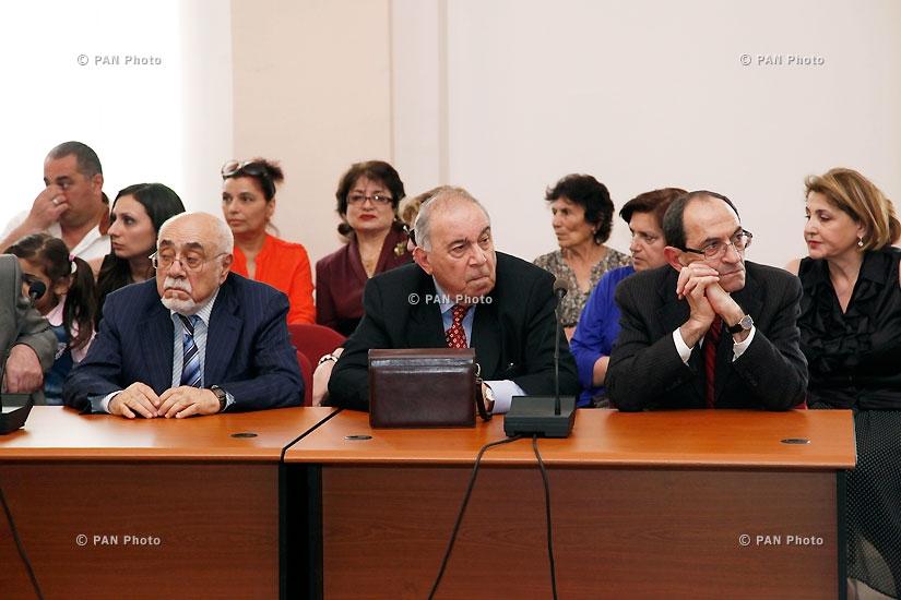 Հանրահայտ պատմաբան, պատմական գիտությունների դոկտոր, պրոֆեսոր Ջոն Կիրակոսյանի ծննդյան 85-ամյակին նվիրված հոբելյանական նիստ