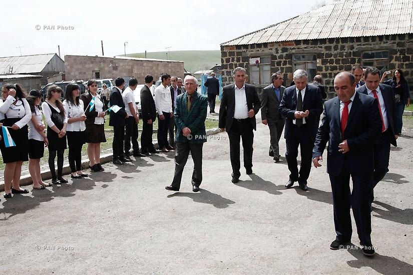 Открытие нового общинного центра села Бавра Ширакской области
