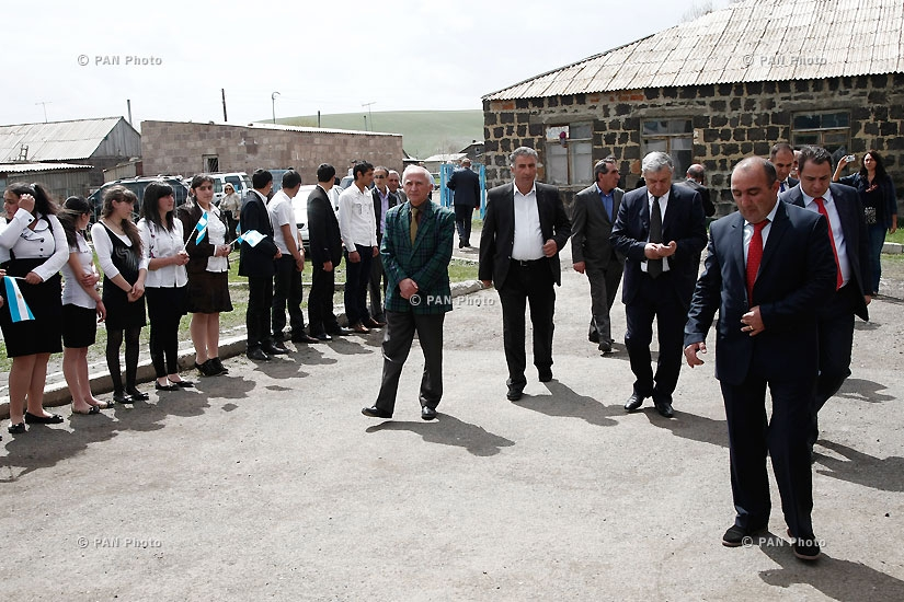 Opening of new community center of Bavra village