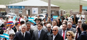 Opening of new community center of Bavra village