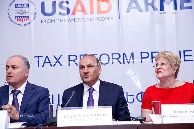 ԱՄՆ ՄԶԳ ներկայացրեց «Հարկային ընկալումներ» հետազոտության արդյունքները