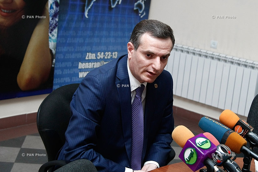 Press conference of Republican MP Artak Zakaryan