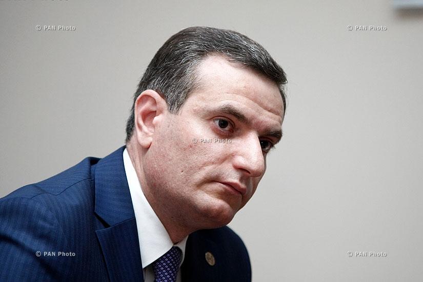 Пресс-конференция депутата от РПА Артака Закаряна