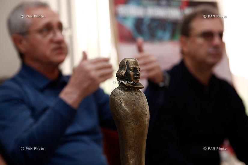 Շեքսպիրյան միջազգային թատերական փառատոնին դրամատիկական թատրոնի մասնակցությանը նվիրված մամուլի ասուլիս
