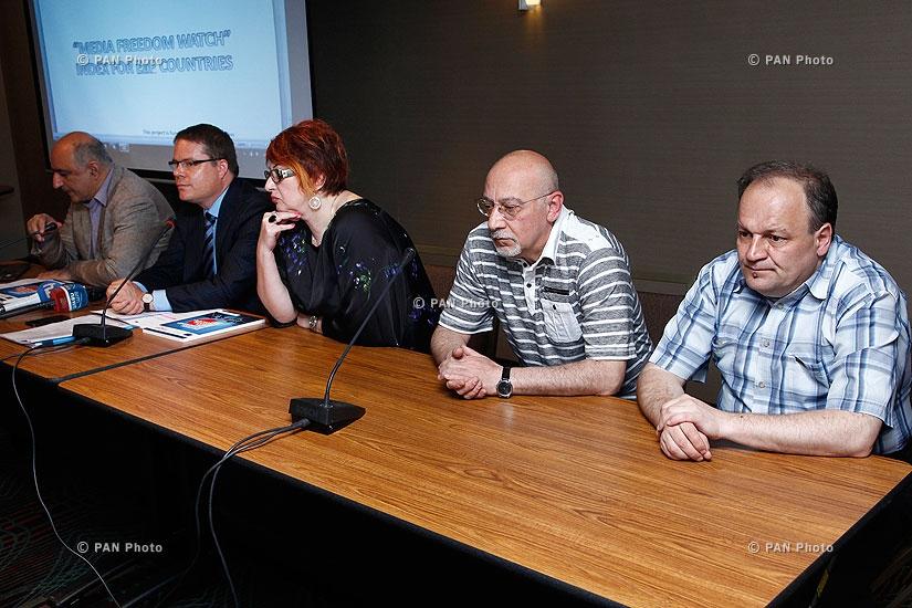 Презентация исследования «Свобода СМИ стран Восточного партнерства в 2013 году»