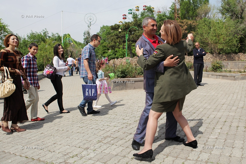 Celebrations dedicated to WWII victory take place in Yerevan Victory Park