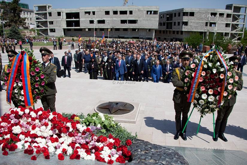 Շուշիի ազատագրման 22-ամյակին նվիրված շքերթ Ստեփանակերտում