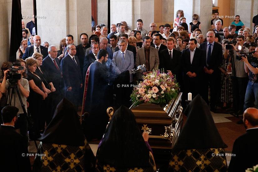 Церемония прощания с композитором Константином Орбеляном