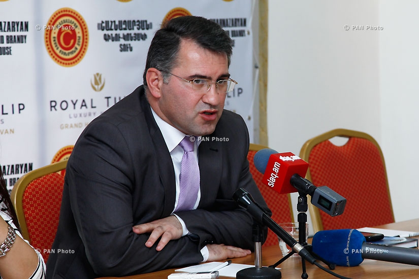 Press conference of Heritage Party vice-president Armen Martirosyan