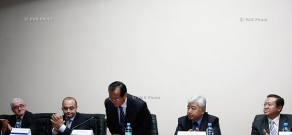 Пресс-конференция представителей Китайской промышленно-строительной корпорации