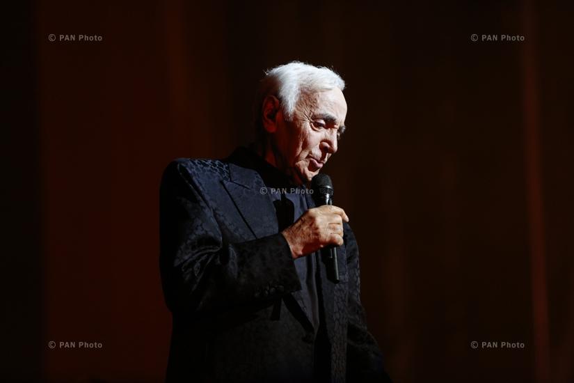 Concert of Charles Aznavour in Yerevan