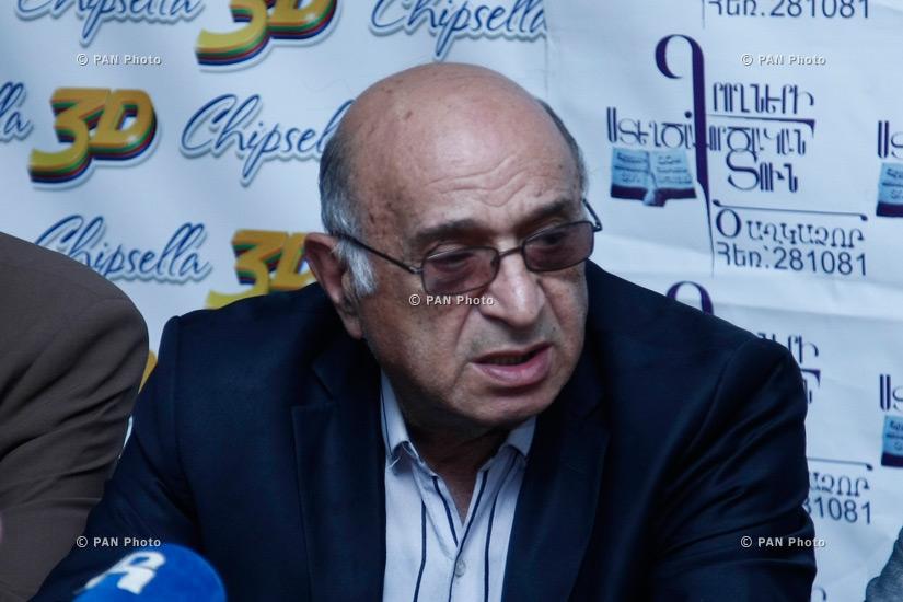 Press conference of Tigran Arzumanyan, Ashot Alexanyan, Aram Satyan and Henrik Edoyan