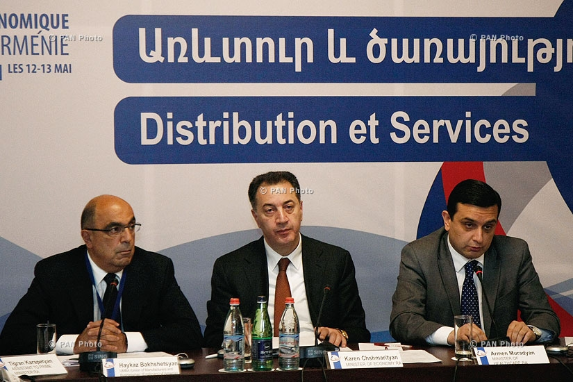 Roundtable on 'Distribution and services and 'Infrastructures and Equipments'