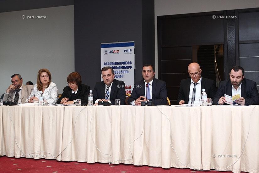 Обсуждение программы «Реализация пенсионных реформ», которое финансируется USAID
