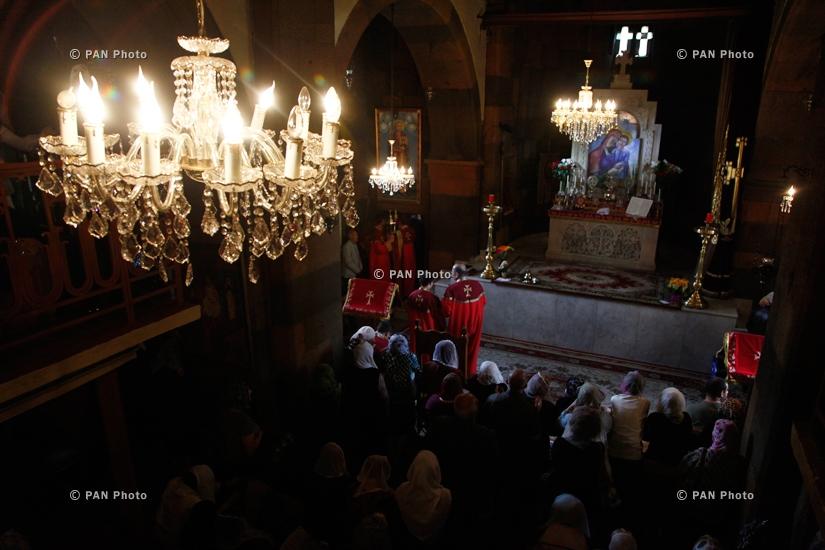 Divine Liturgy commemorating Catholicos Moses III of Tatev