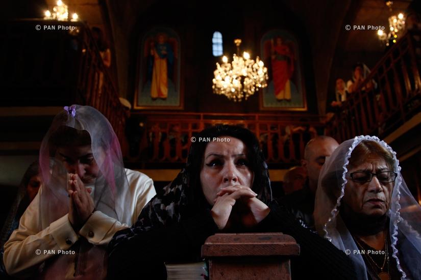 Божественная литургия в честь Католикоса Мовсеса III Татеваци