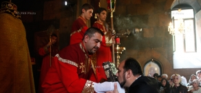 Divine Liturgy commemorating Catholicos Moses III of Tatev