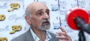 Press conference of Grigor Brutyan