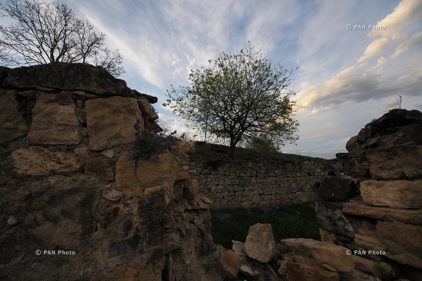 Армяно-азербайджанская граница: Чинар, Айгепар, Неркин Кармирахпюр, Мовсес
