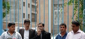 Езиды Армении провели акцию протеста у здания ООН в Ереване