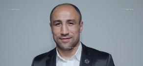 Пресс-конференция боксера Артура Абрахама