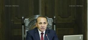 RA Govt.: RA government holds extraordinary session